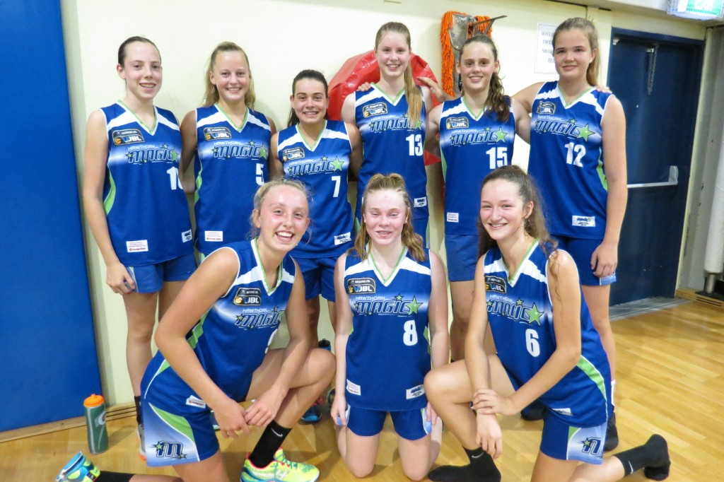 16.1 Girls competed in the Eltham / Dandenong Tournament