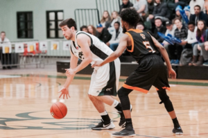 Marcus playing for the UPEI Panthers